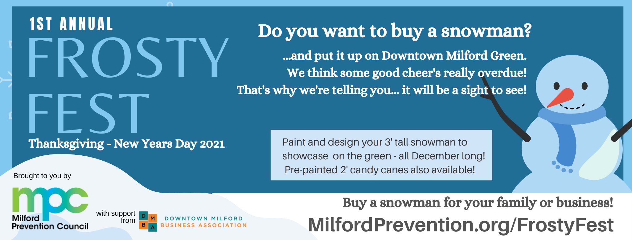 Frosty Fest 2020: Downtown Milford Green