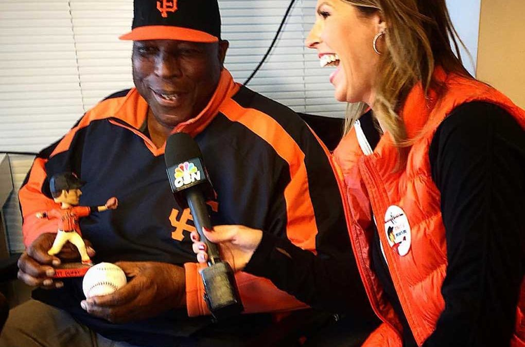 Amy G remembers Giants legend Willie McCovey as a treasure of a person