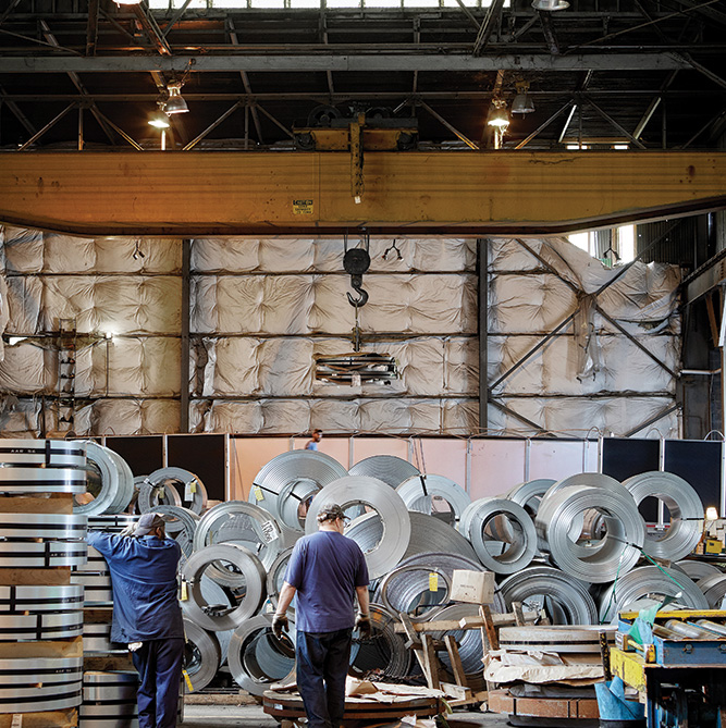 Ups & Downs In The Steel Business