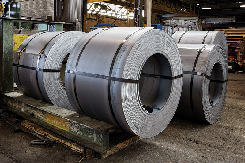Steel coils & for slitting and sheets