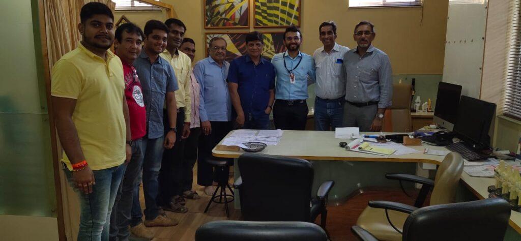 Felicitation& Invitation to Dr. Kiran Doshi