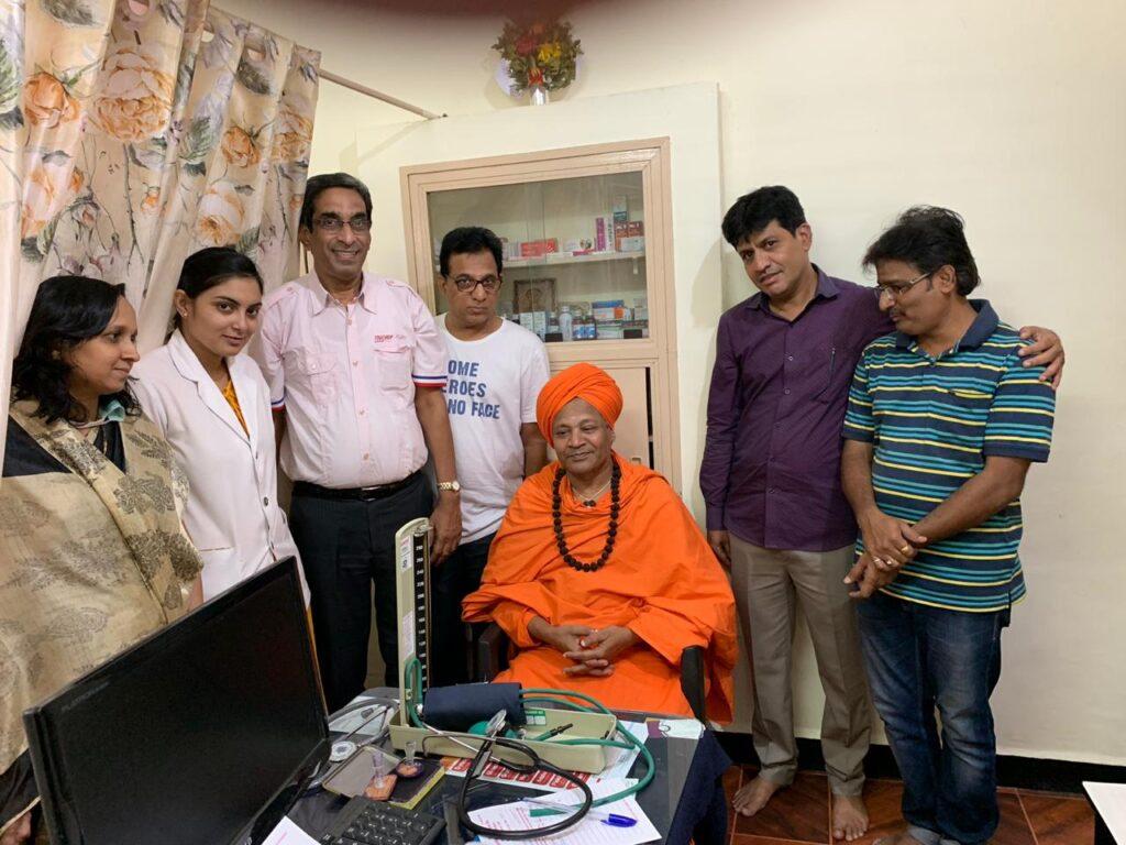 Visit of Allamprabhu Swamiji 14-10-2019