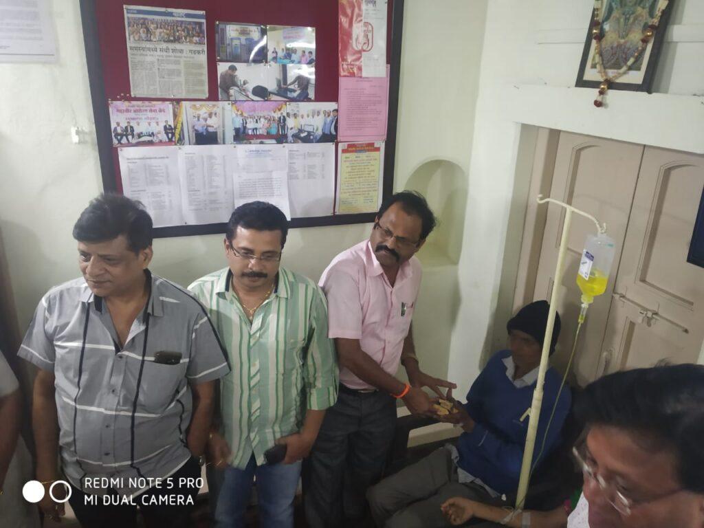 Visit of Shri. Mahaveer Borannawar 9-1-20