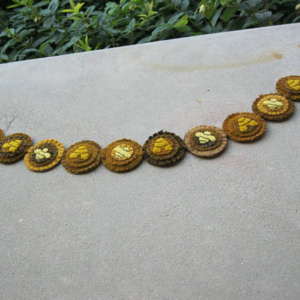 Beehive Penny Garland