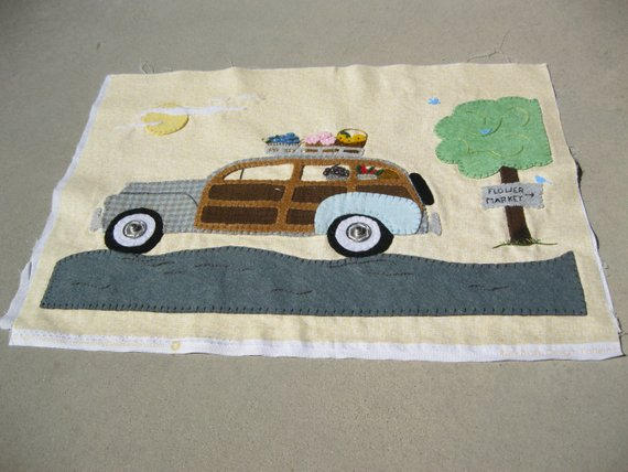Spring Fever Woody Panel