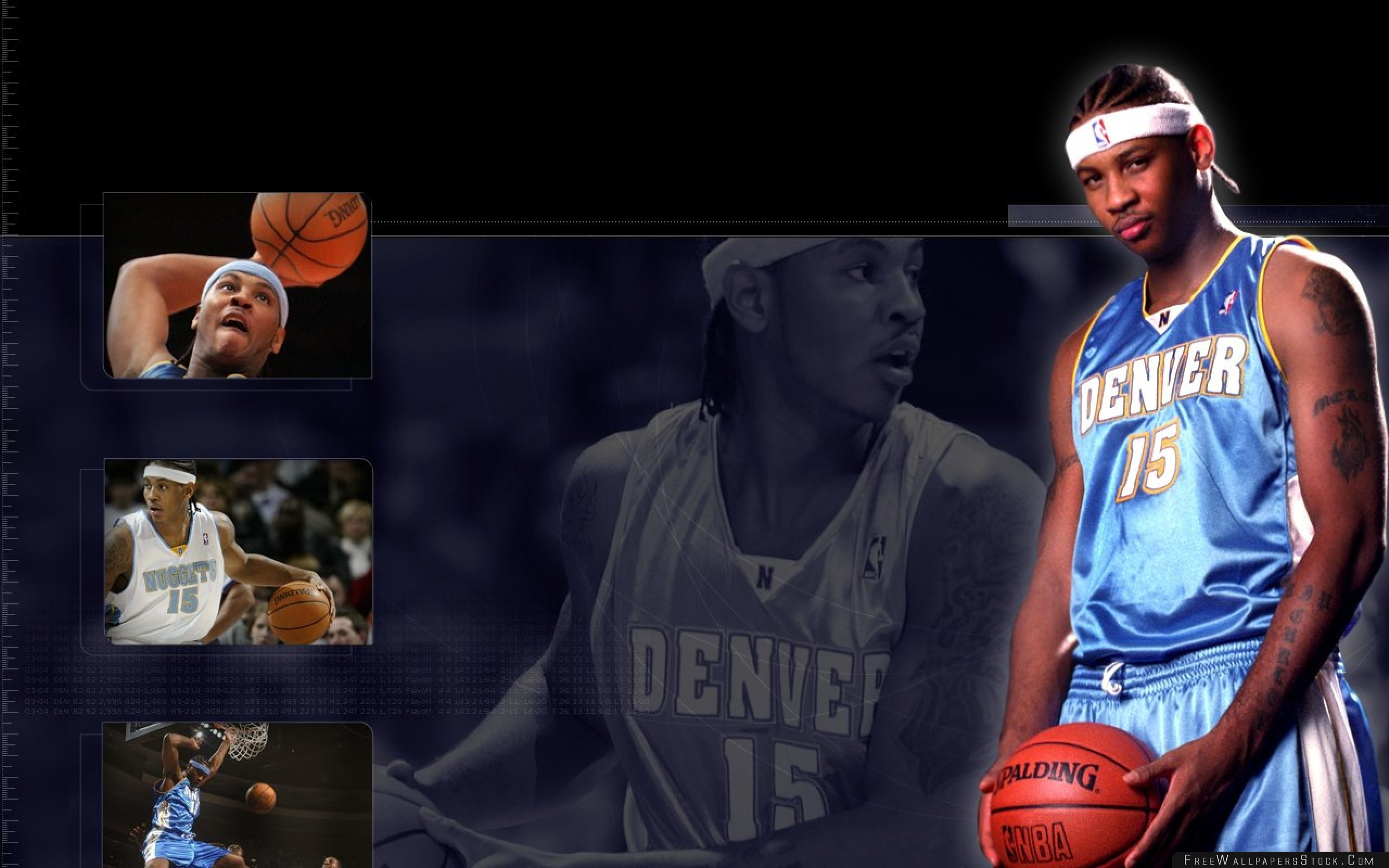 Download Free Wallpaper Anthony Carmelo Basketball Player Denver