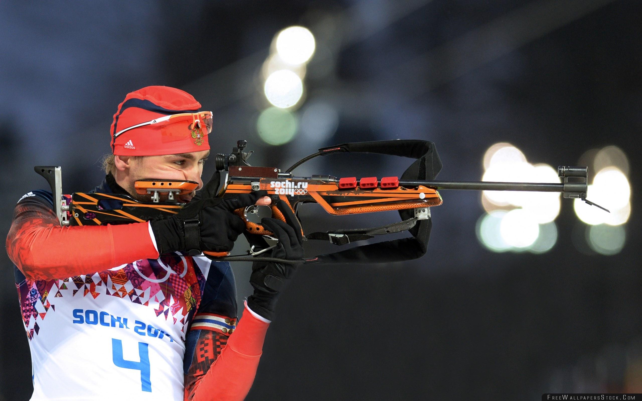 Download Free Wallpaper Anton Shipulin Biathlon Sochi Xxii Winter Olympic Games Russia