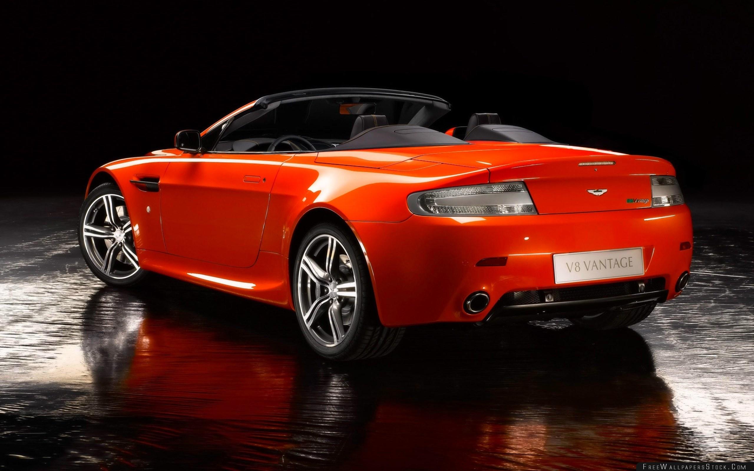 Download Free Wallpaper Aston Martin   Vantage Cabriolet