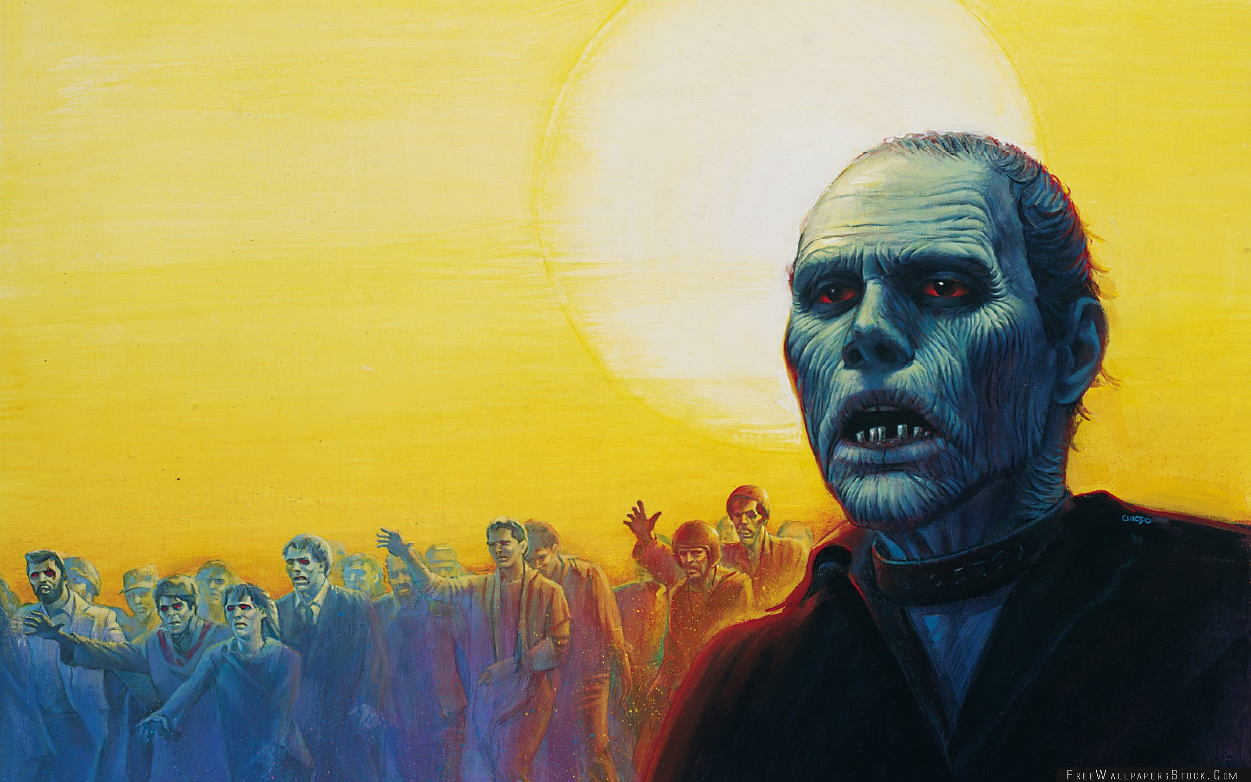 Download Free Wallpaper Day   The Dead Art Zombie