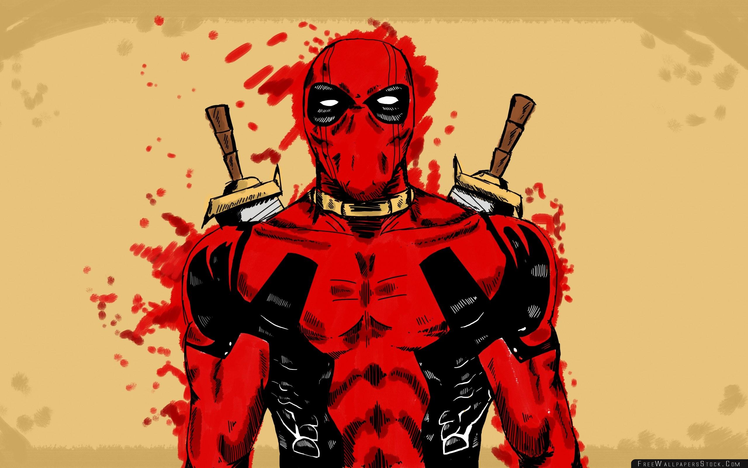 Download Free Wallpaper Deadpool Marvel Comics Art