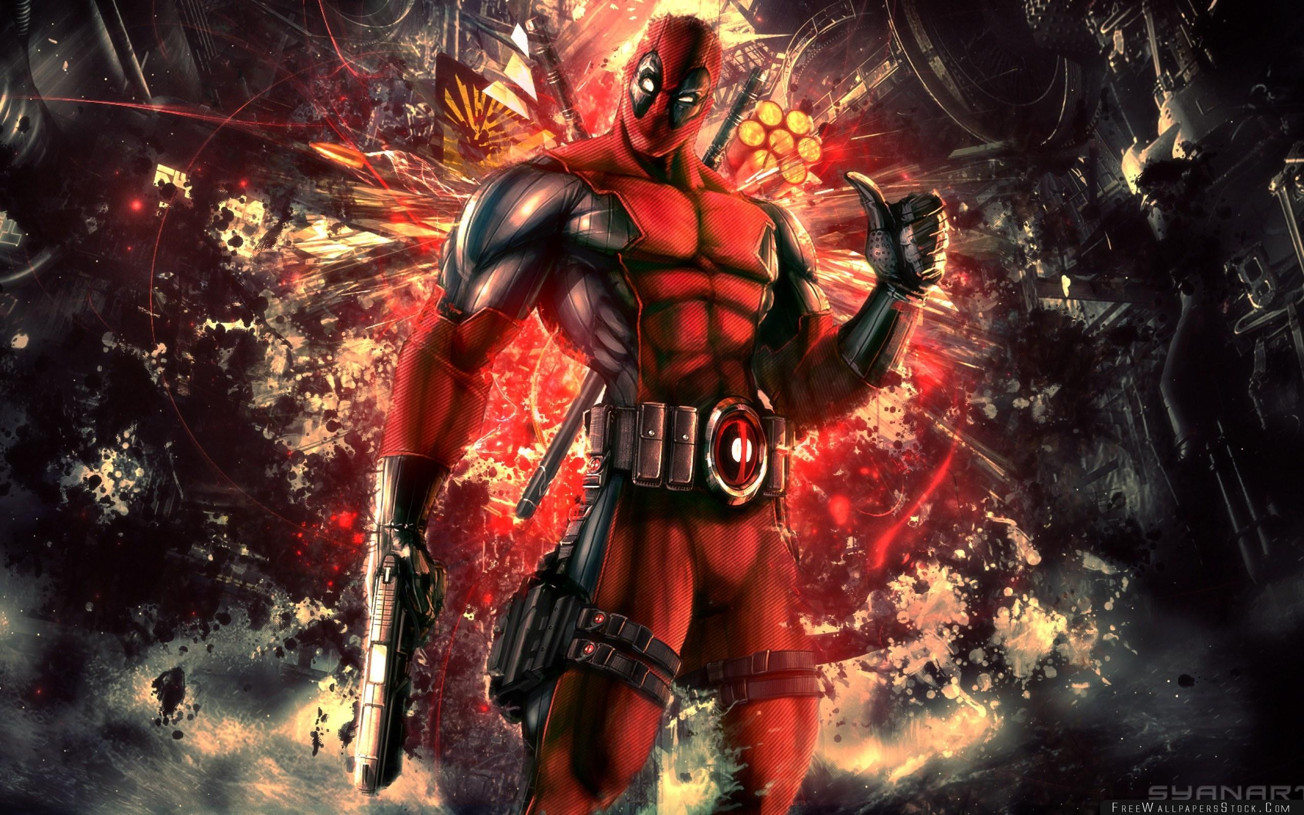 Download Free Wallpaper Deadpool Wade Wilson Mercenary Anti Hero High Moon Studios Activision Publishing Marvel Comics