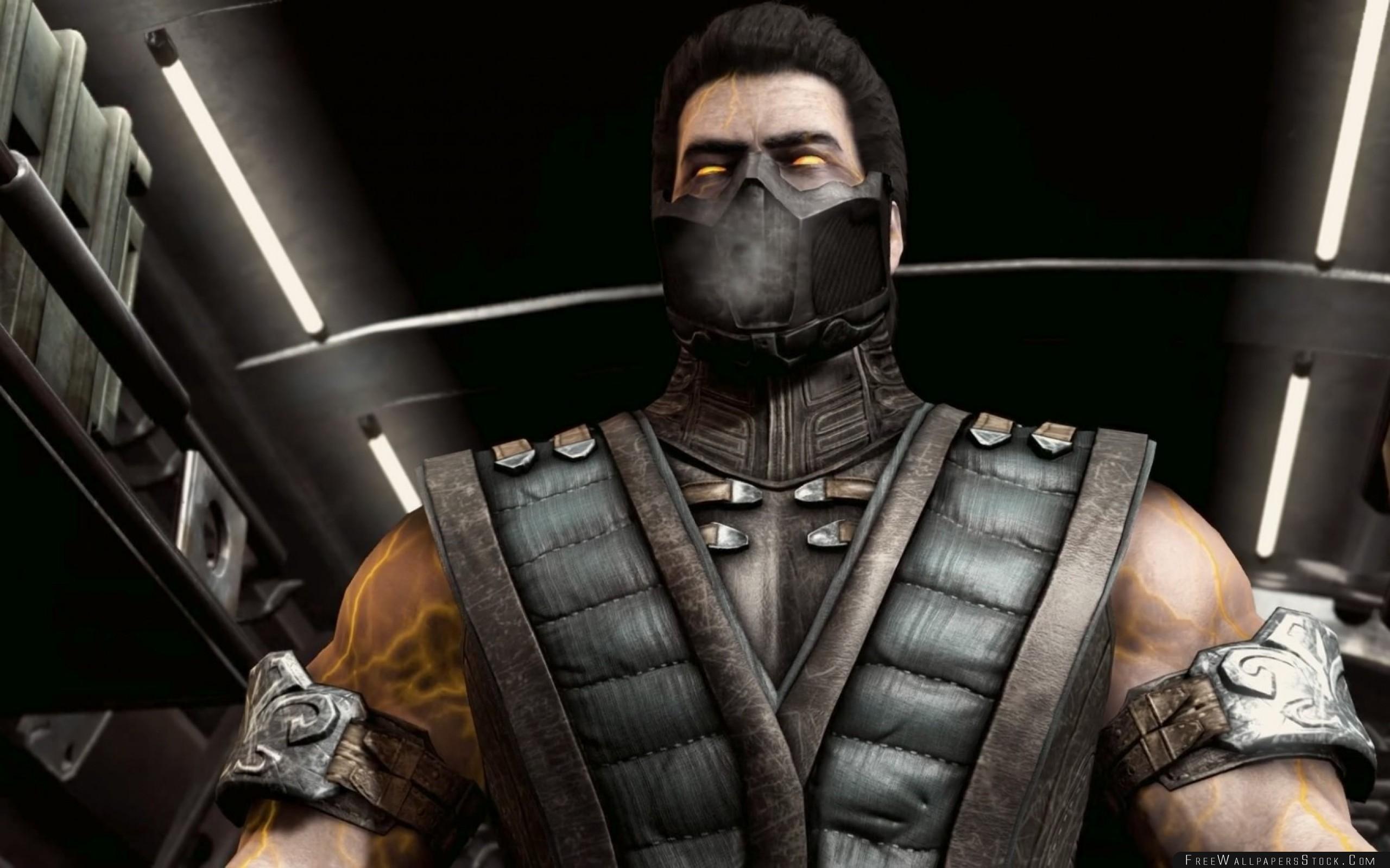 Download Free Wallpaper Mortal Kombat   Sub Zero Hero