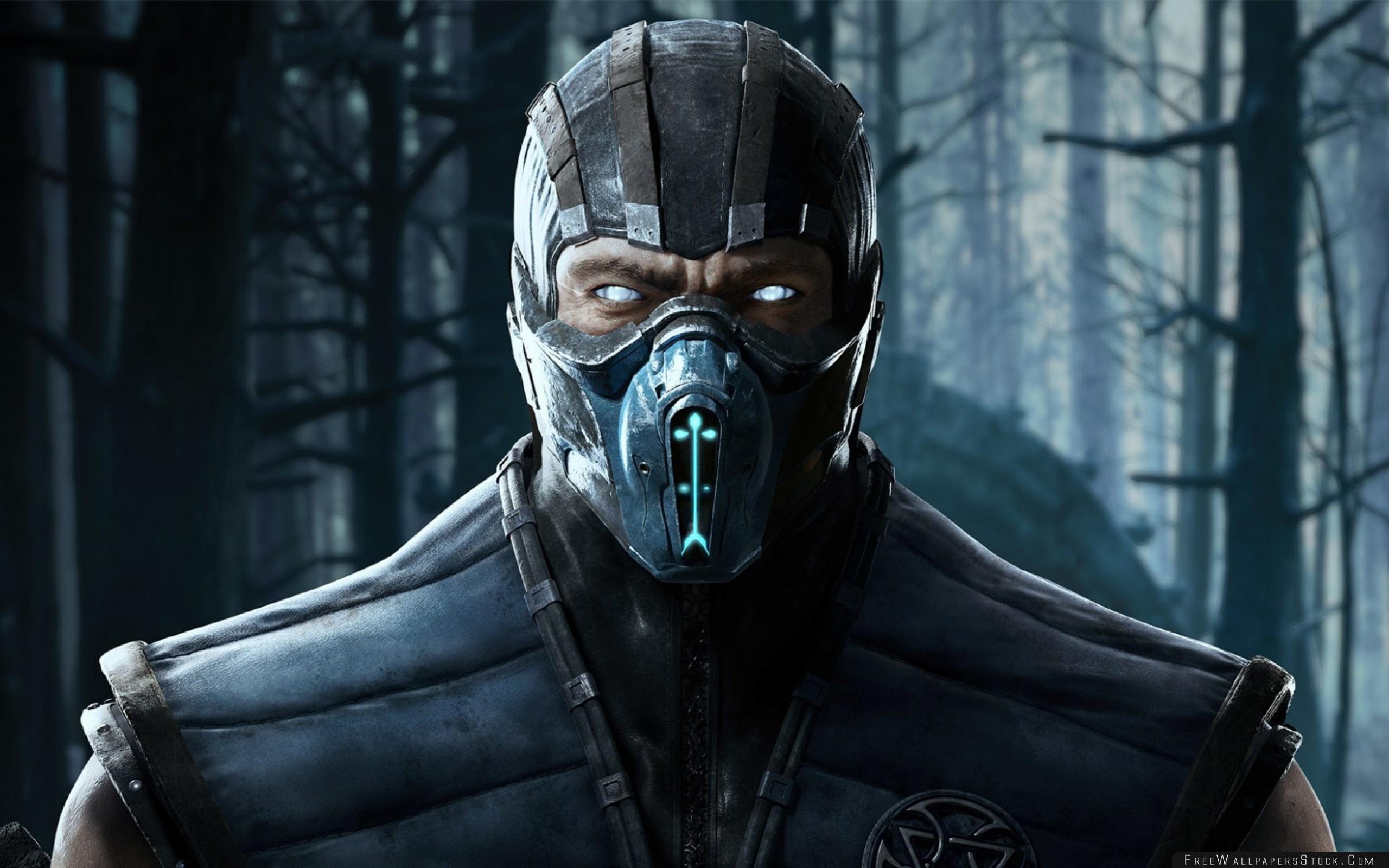 Download Free Wallpaper Mortal Kombat   Sub Zero Kriomant Ninja