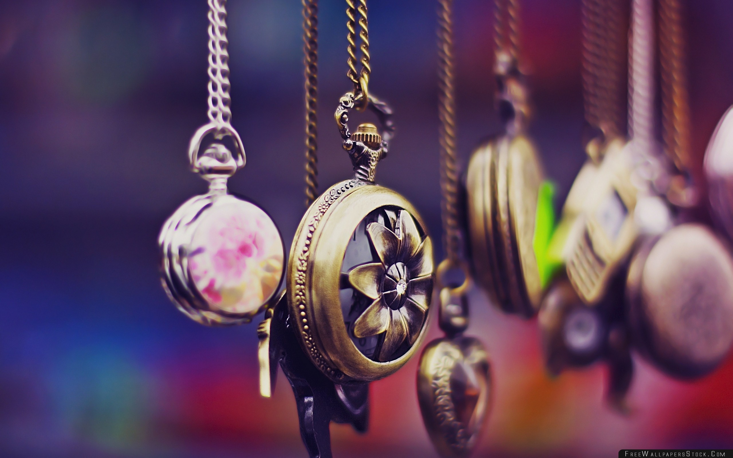 Download Free Wallpaper Pocket Watch Chain Set Variety
