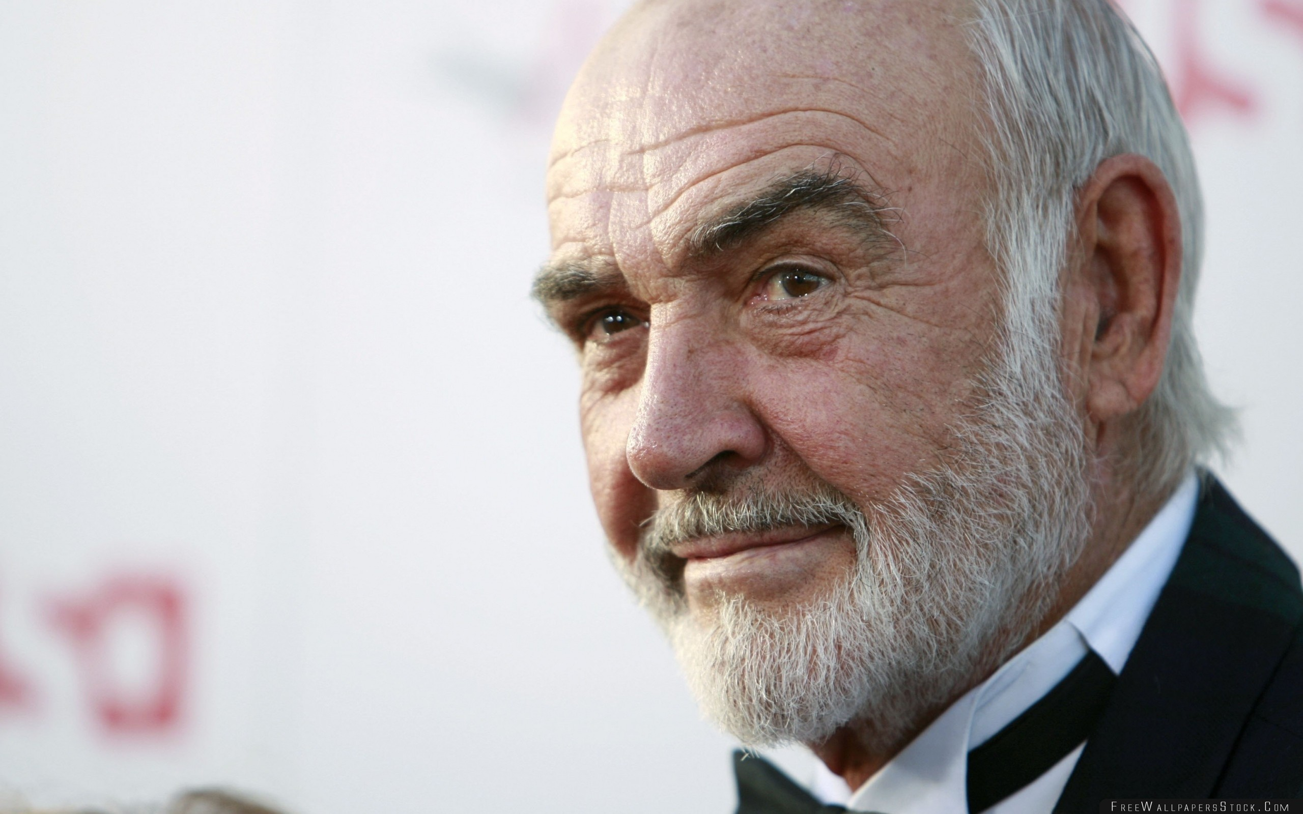 Download Free Wallpaper Sean Connery Gray Haired Face Hair Celebrity Hollywood
