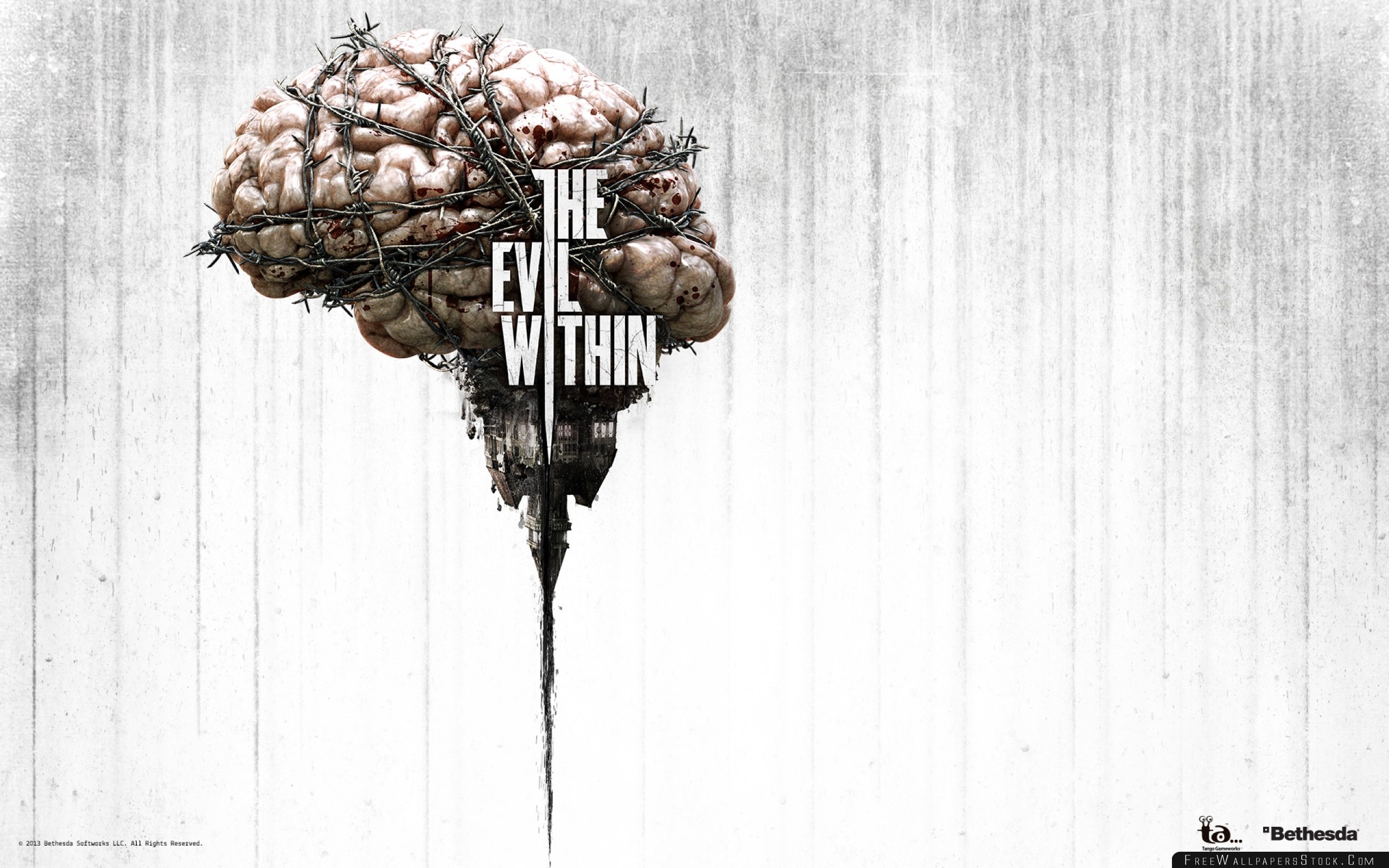 Download Free Wallpaper The Evil Within Survival Horror Game Logo
