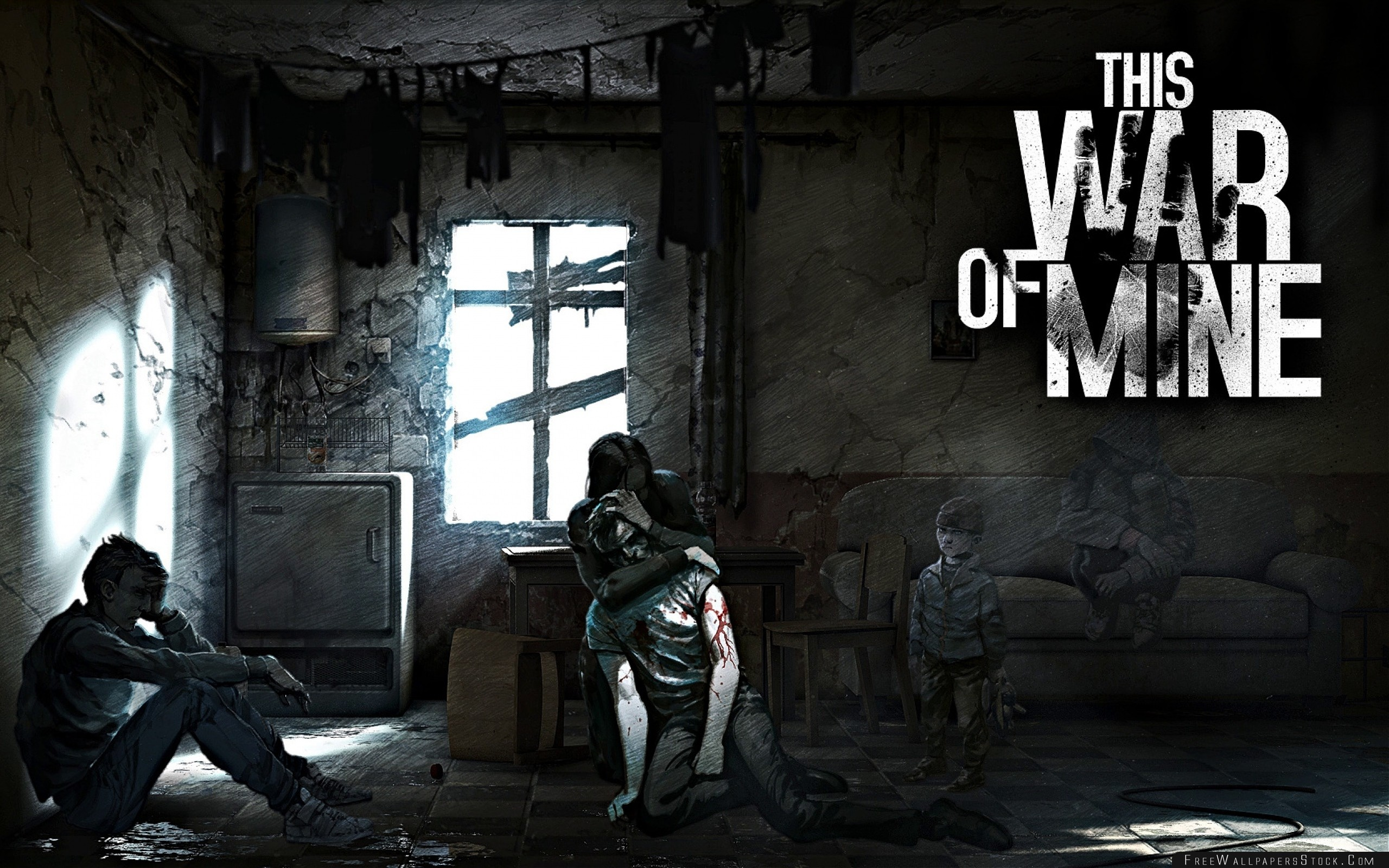 Download Free Wallpaper This War   Mine The Little Ones Survival Stealth Shooter