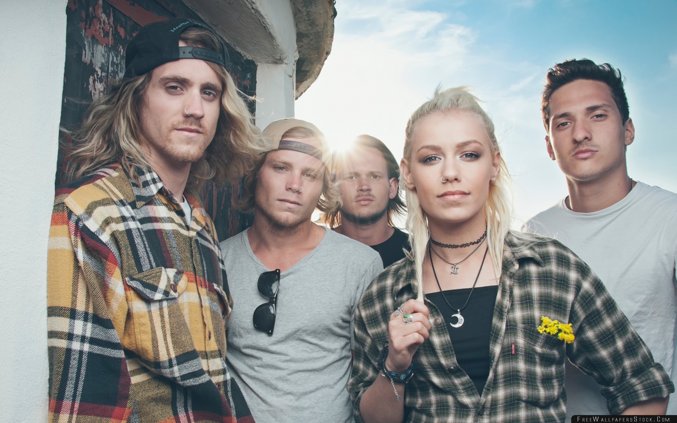 Download Free Wallpaper Tonight Alive Australian Band Composition Celebrities Musicians