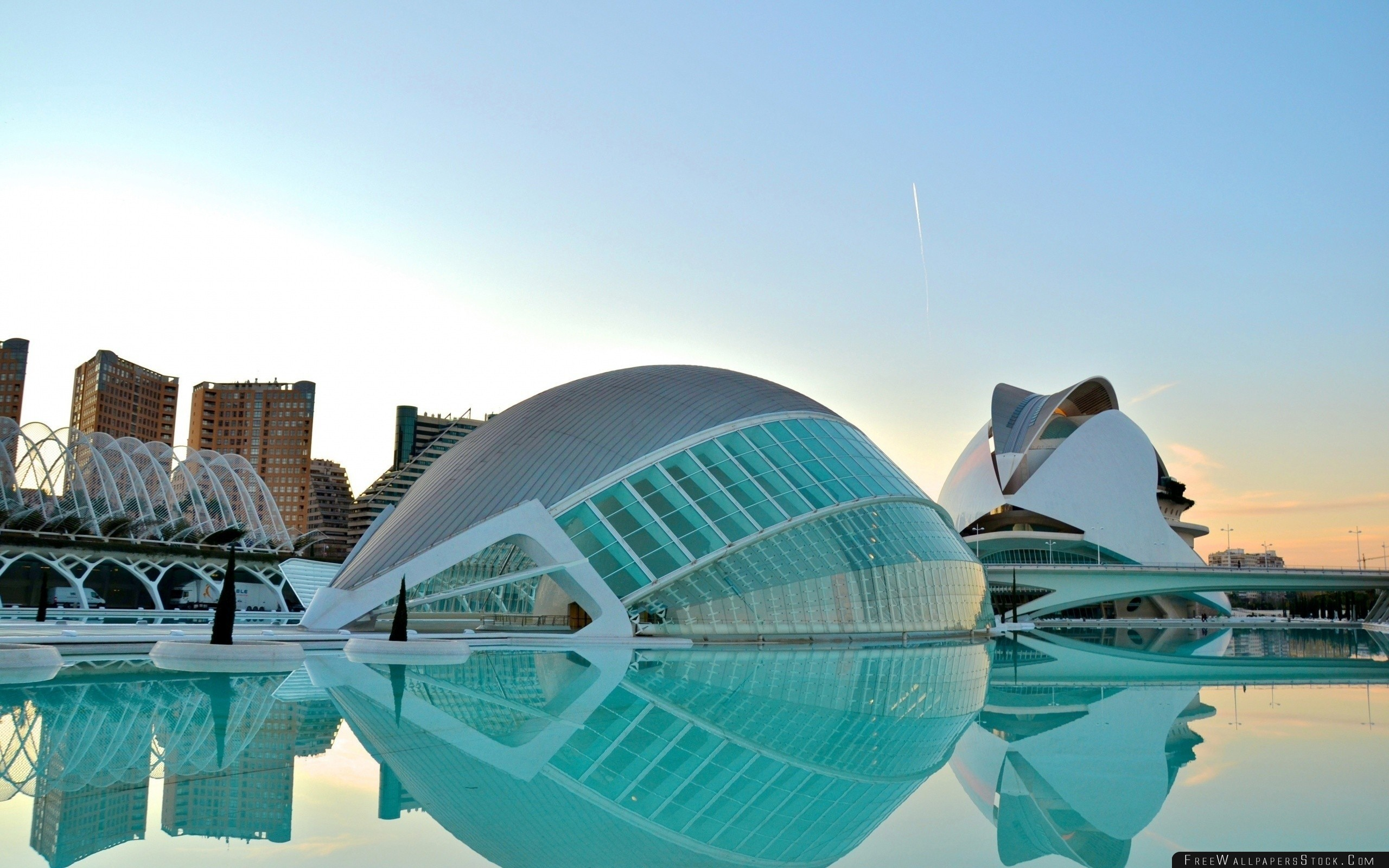 Download Free Wallpaper Valencia Architecture Building Beautifully