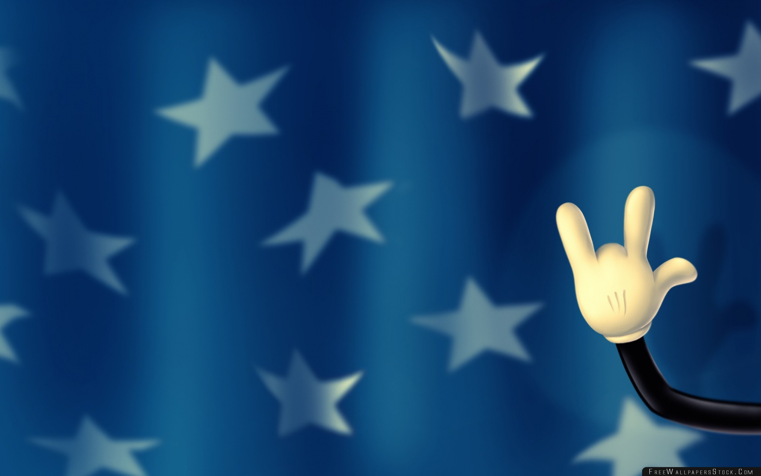 Download Free Wallpaper Walt Disney Mickey Mouse Hand Fingers Background Stars