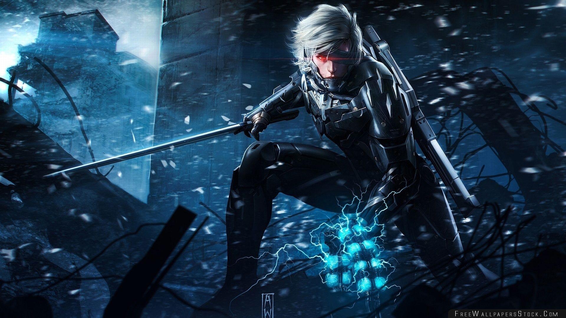 Download Free Wallpaper Metal Gear Rising Revengence