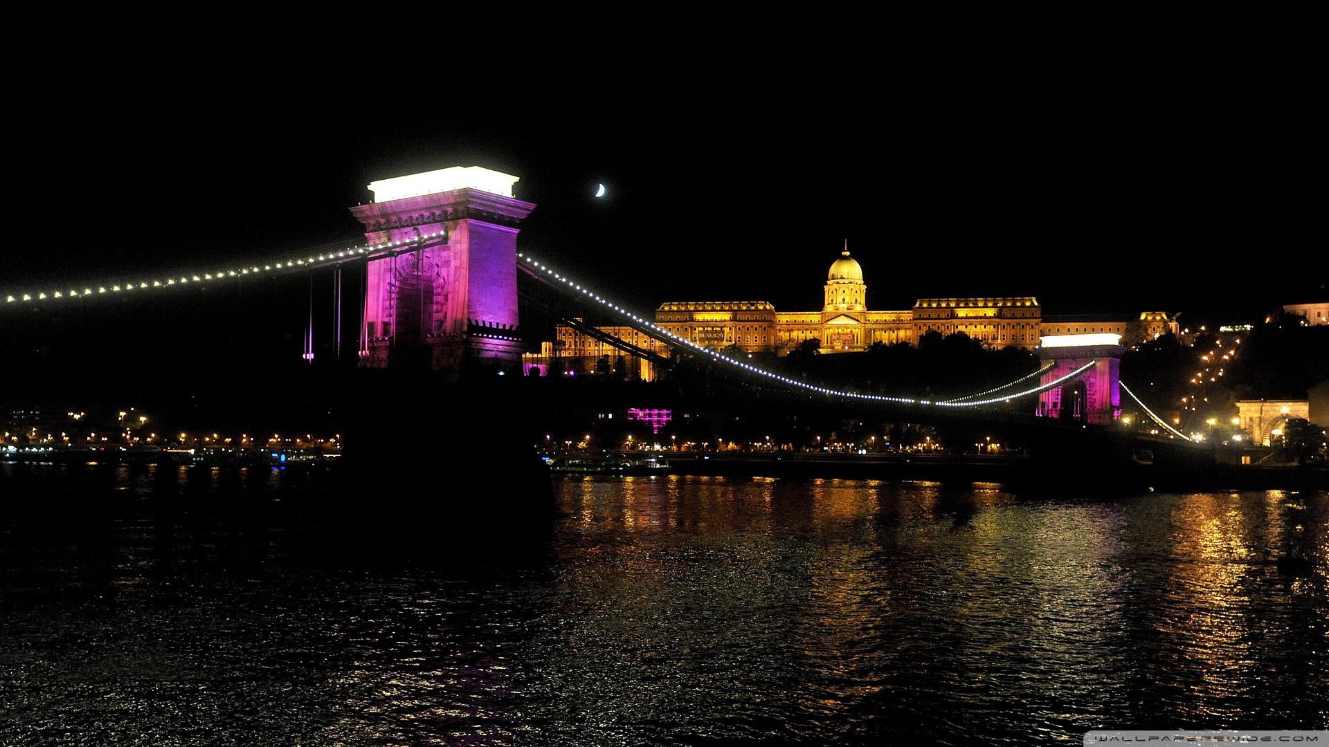 Download Free WallpaperChain Bridge Budapest Hungary