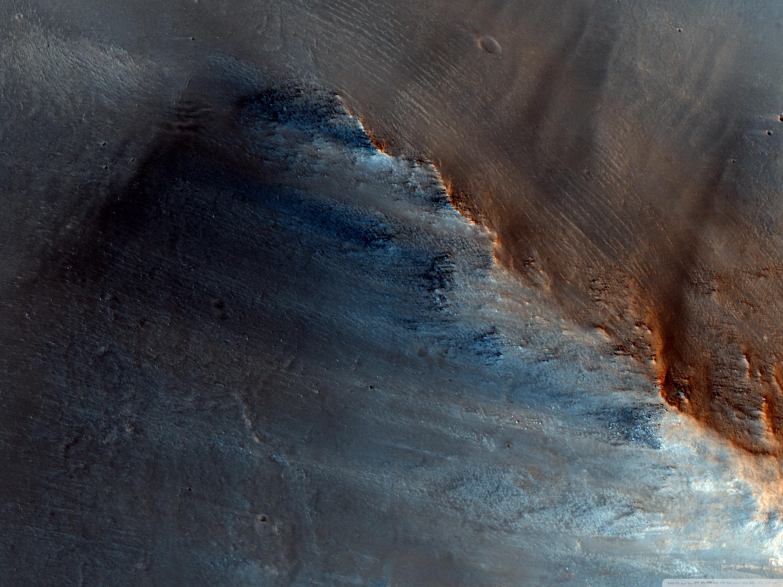 Download Free WallpaperDark Spot   Mars Nasa