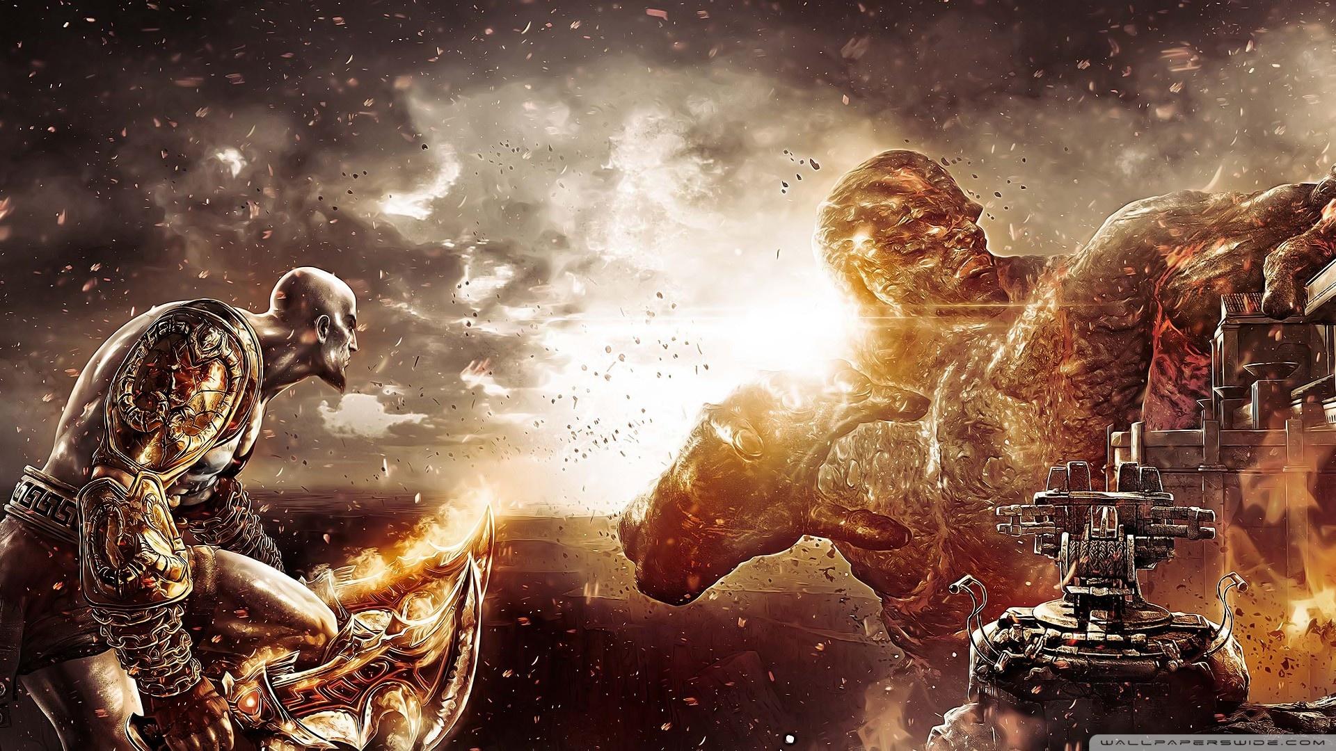 Download Free WallpaperGod   War Kratos