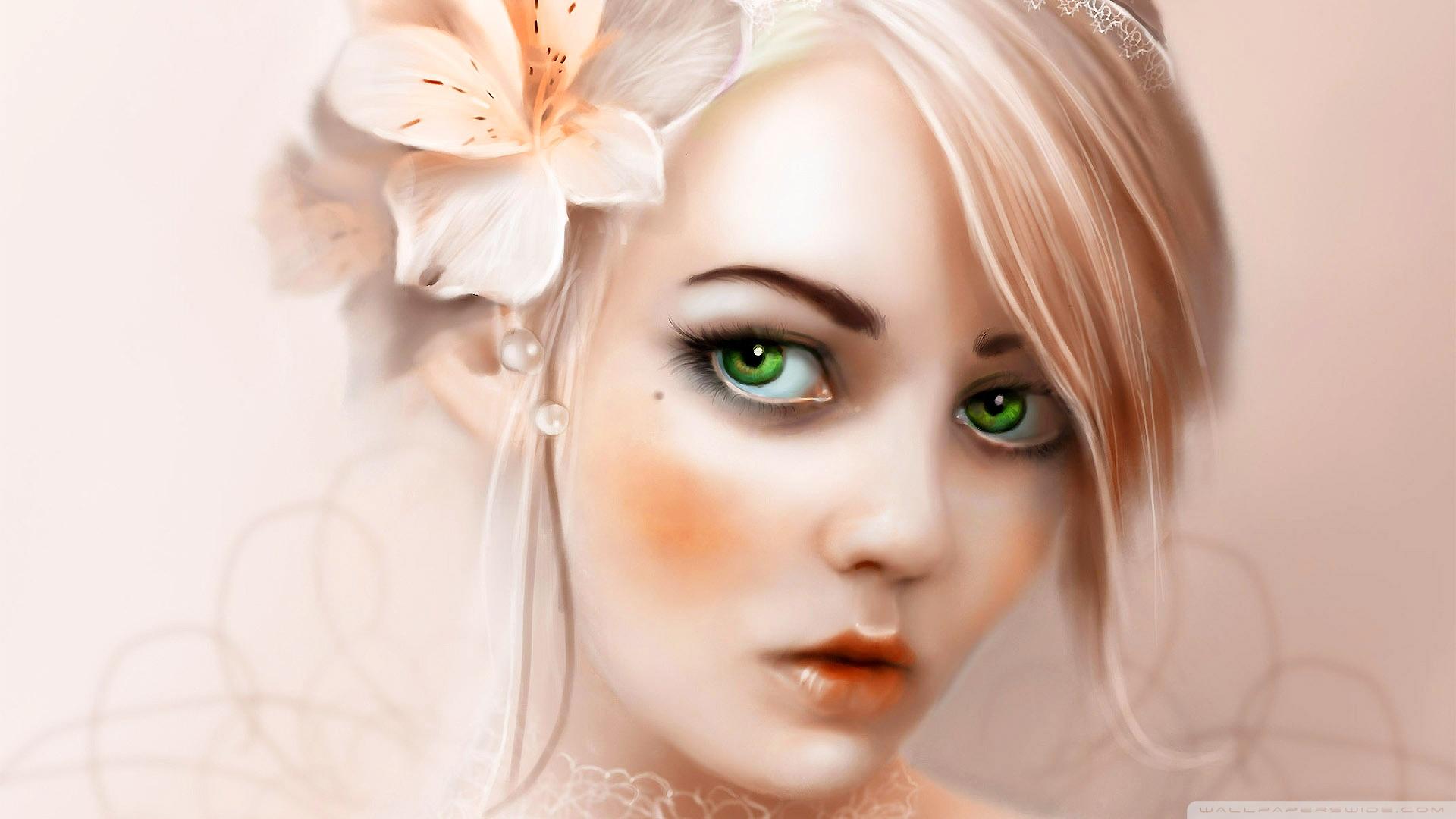 Download Free WallpaperGreen Eyes