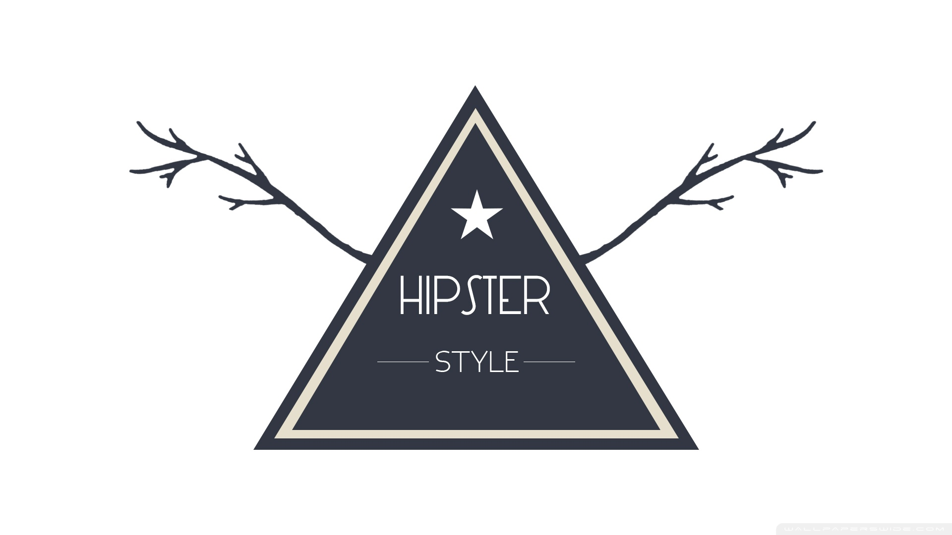 Download Free WallpaperHipster Style Badge