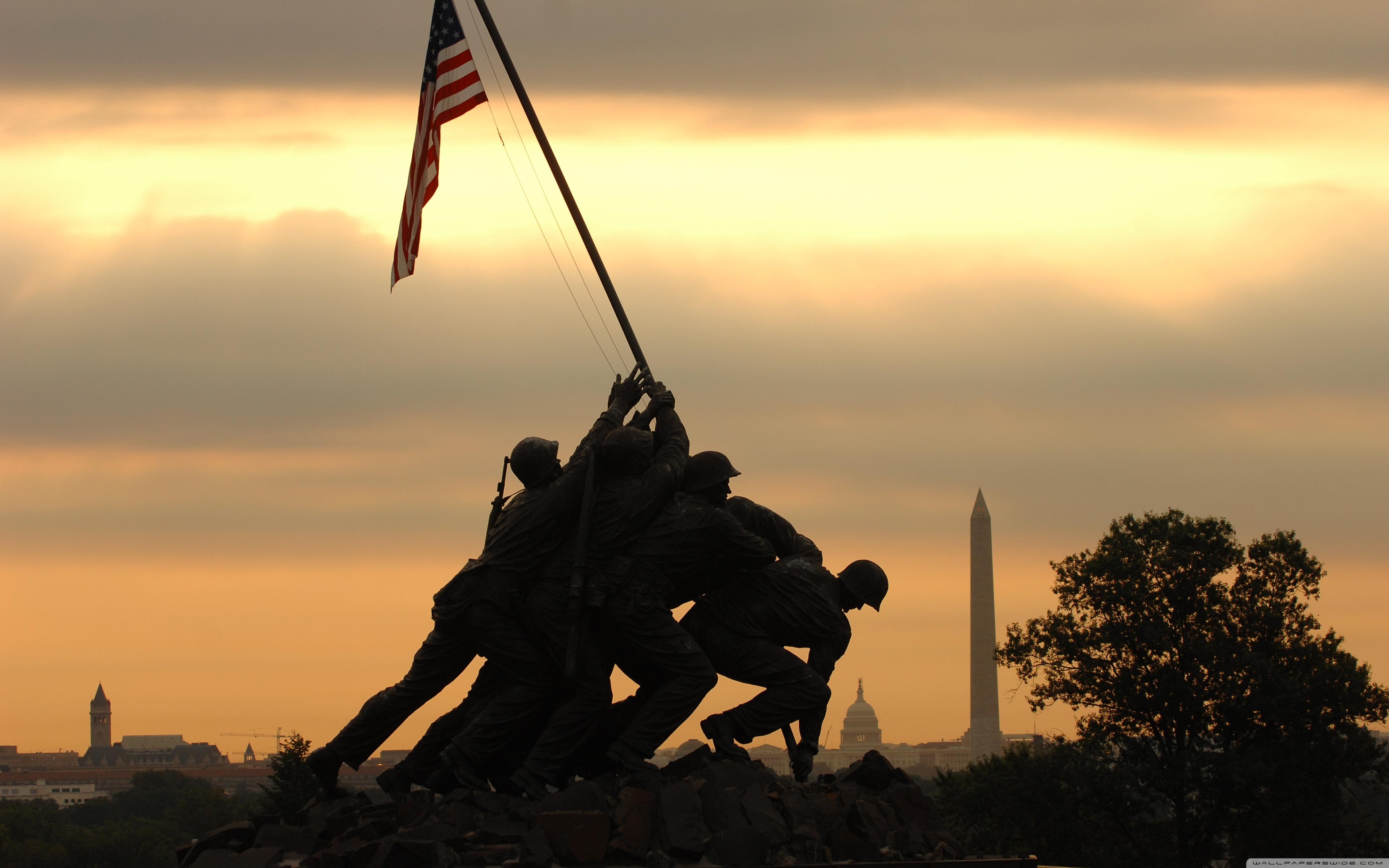 Download Free WallpaperIwo Jima Memorial