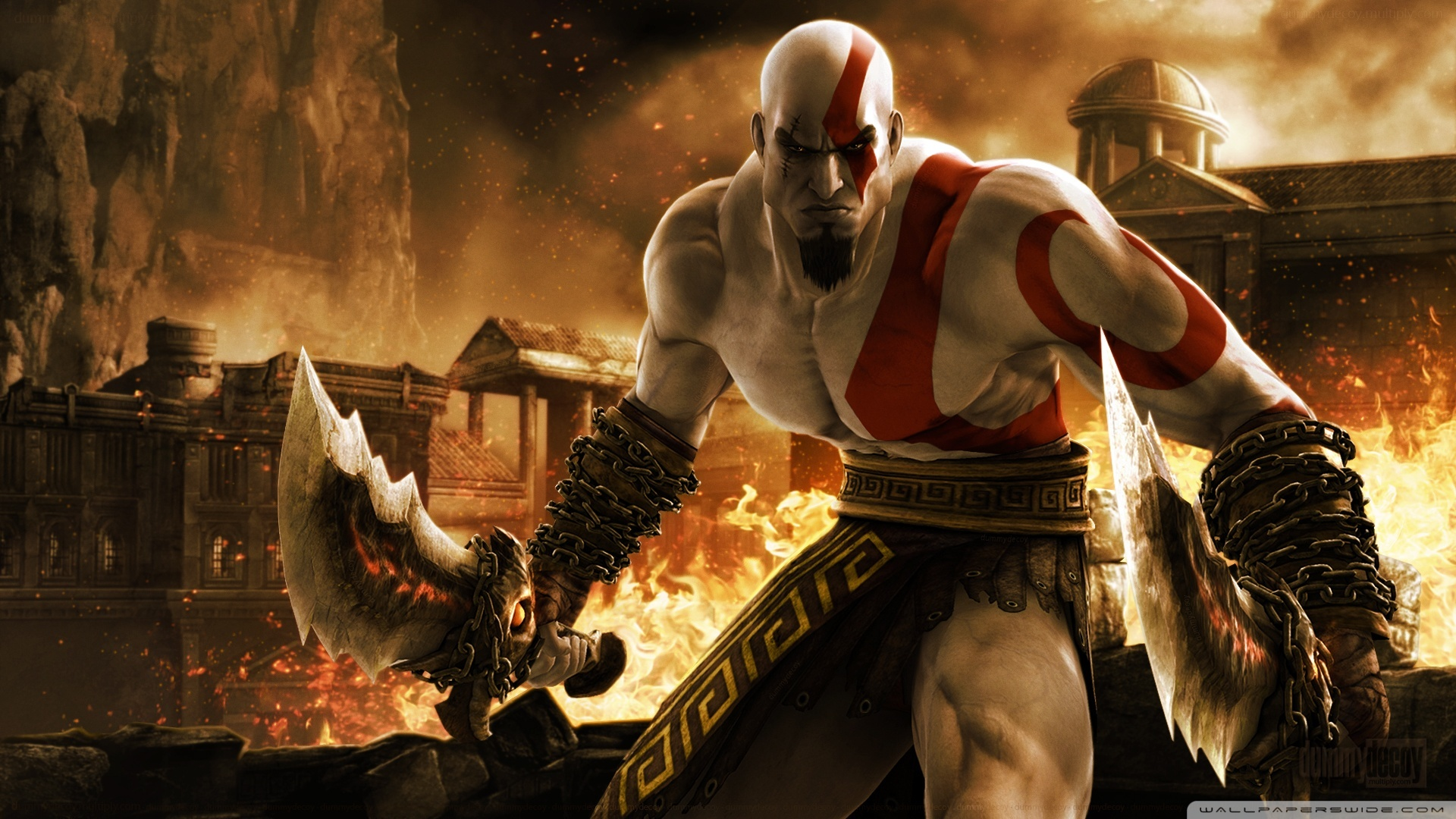 Download Free WallpaperKratos   God War