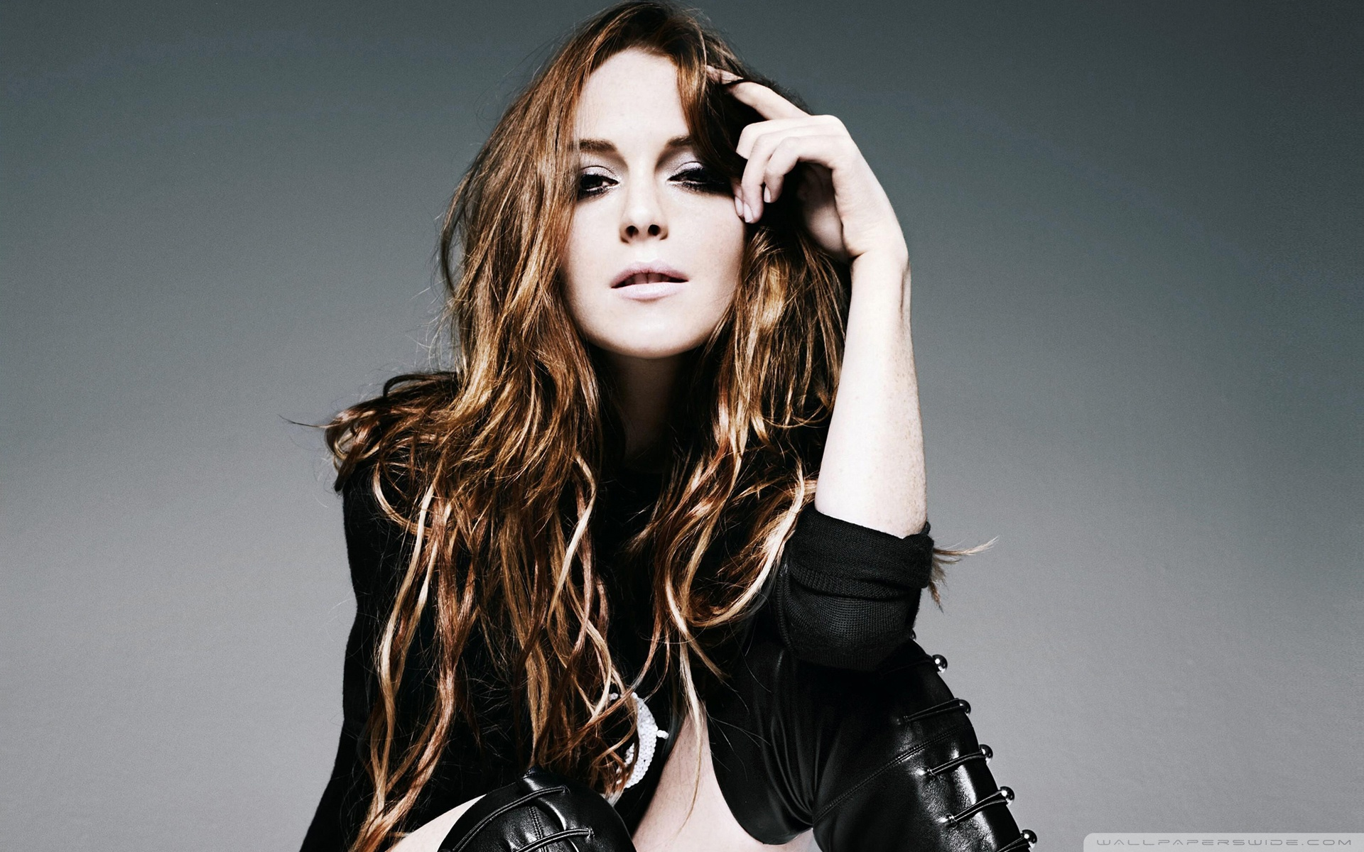 Download Free WallpaperLindsay Lohan Fashion Style