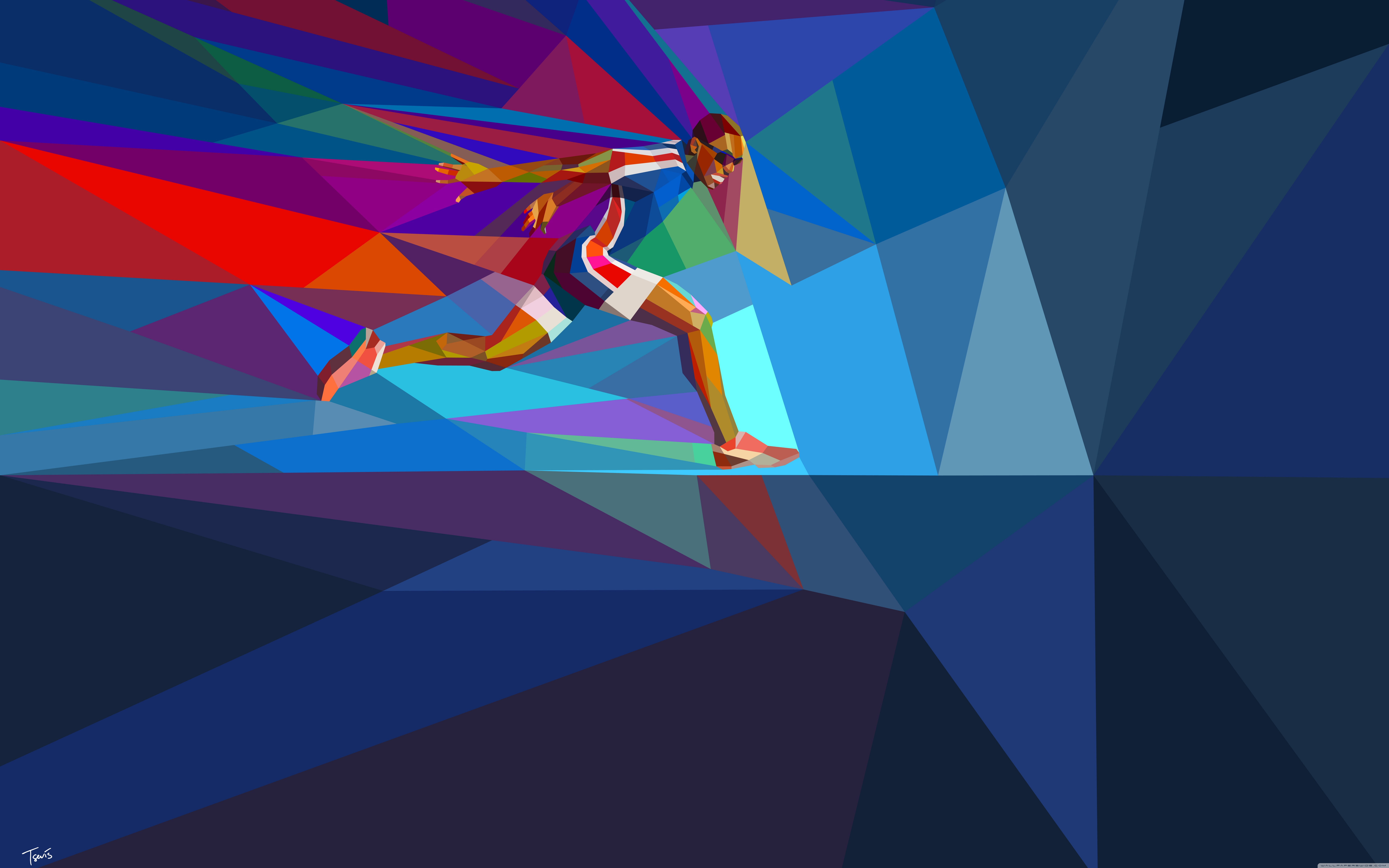 Download Free WallpaperMale Olympic Runner