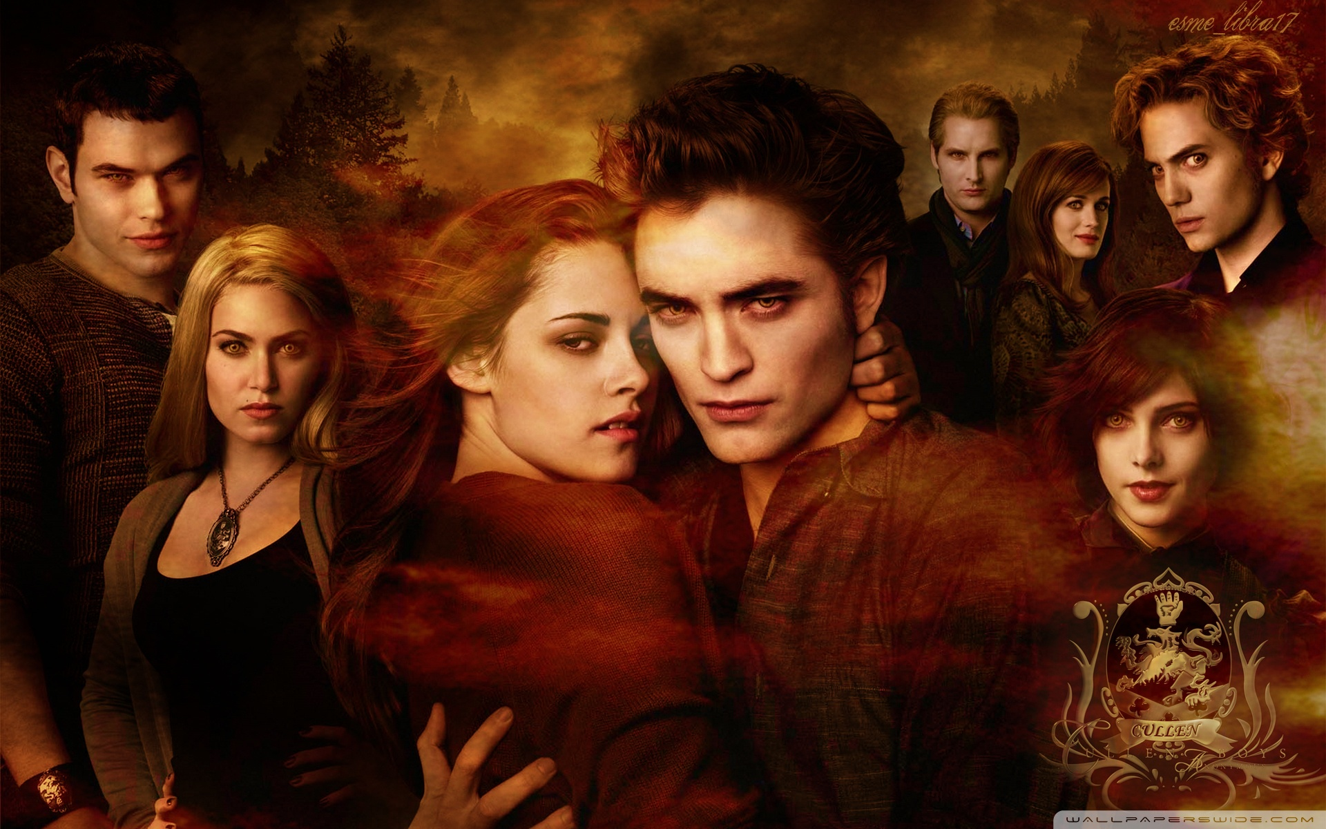 Download Free WallpaperNew Moon Movie