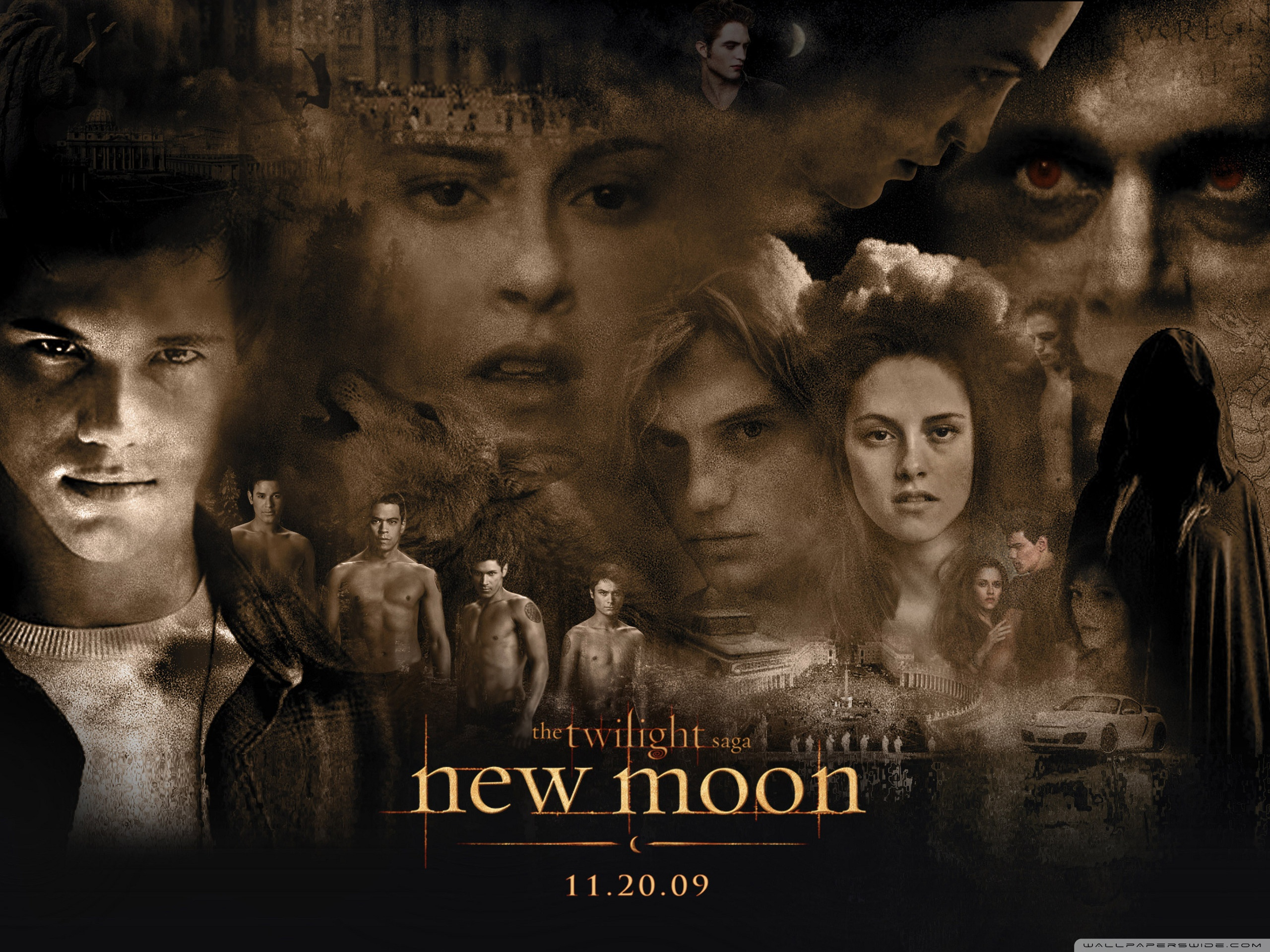 Download Free WallpaperNew Moon Twilight Movie