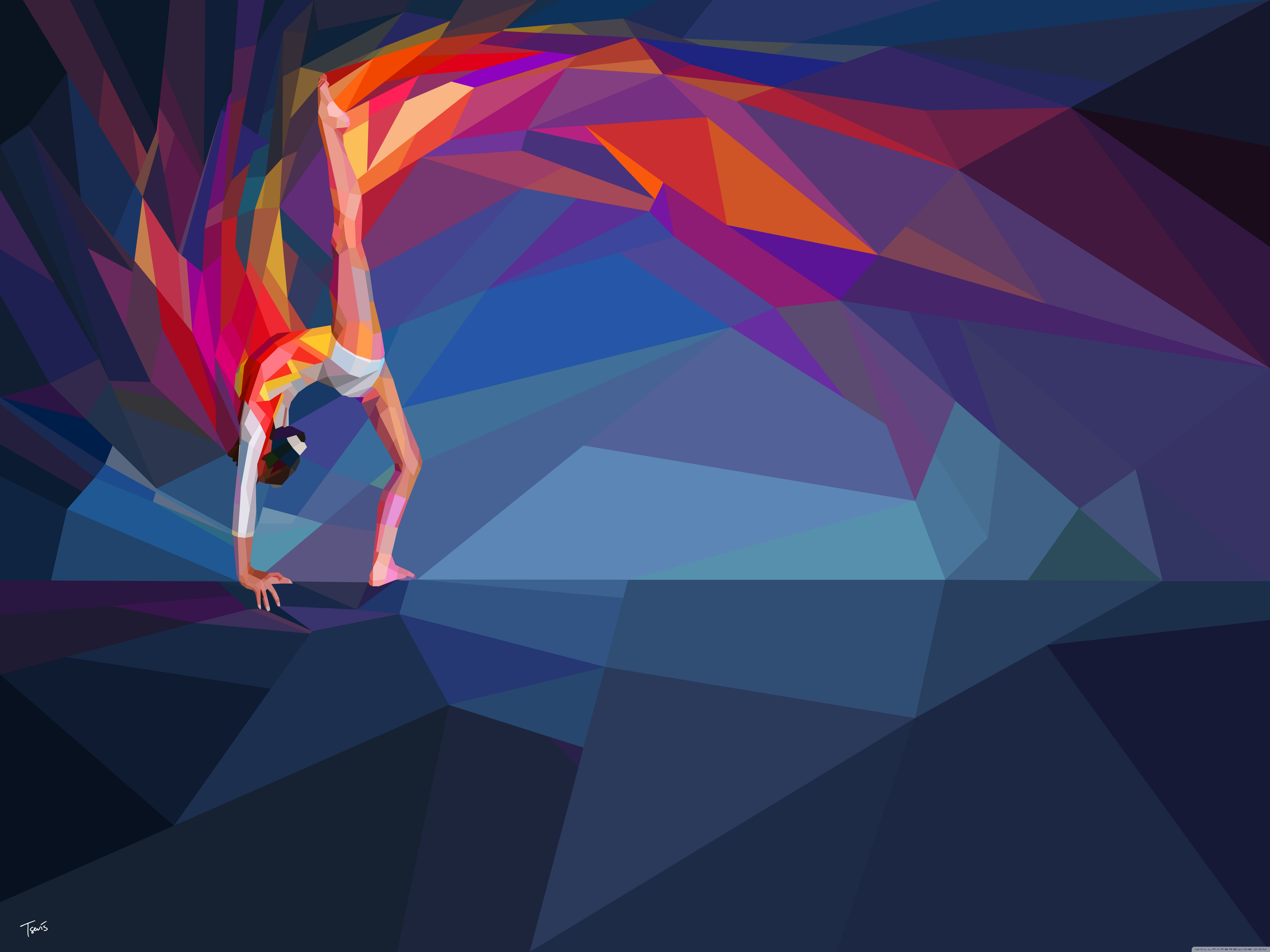 Download Free WallpaperOlympic Gymnast   Beam