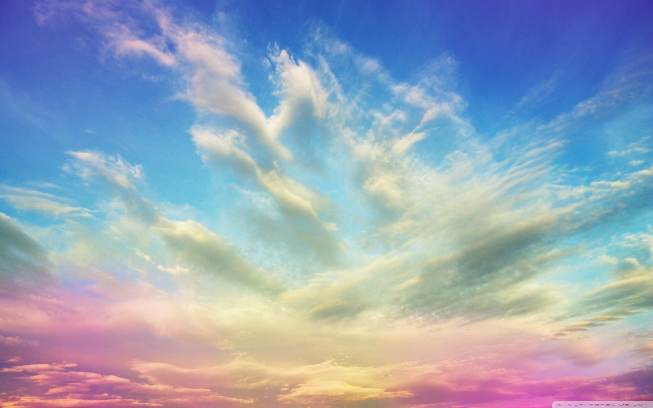 Download Free WallpaperPink Clouds