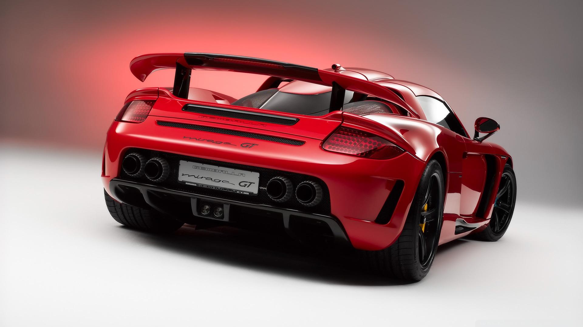 Download Free WallpaperRed Porsche Carrera