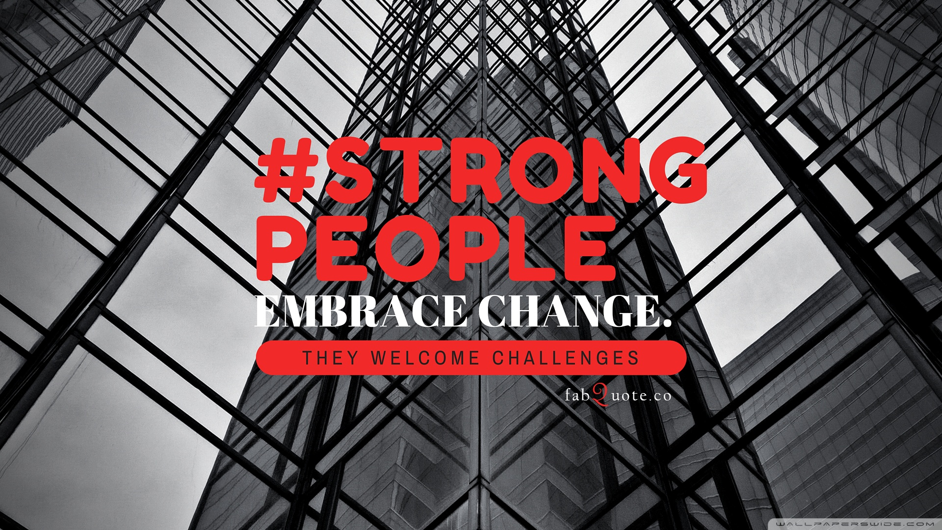 Download Free WallpaperStrong People Quote