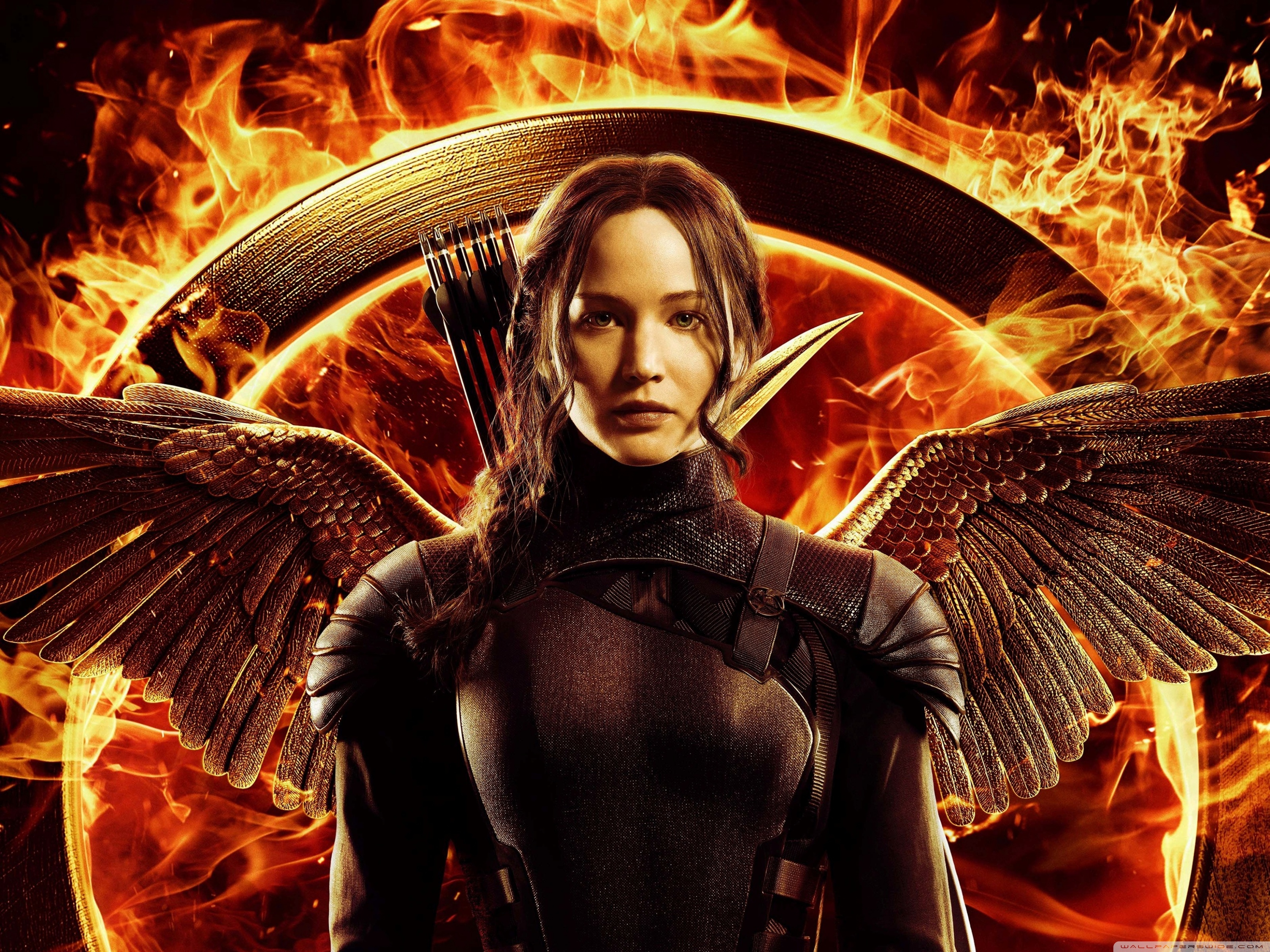 Download Free WallpaperThe Hunger Games Mockingjay Part Katniss