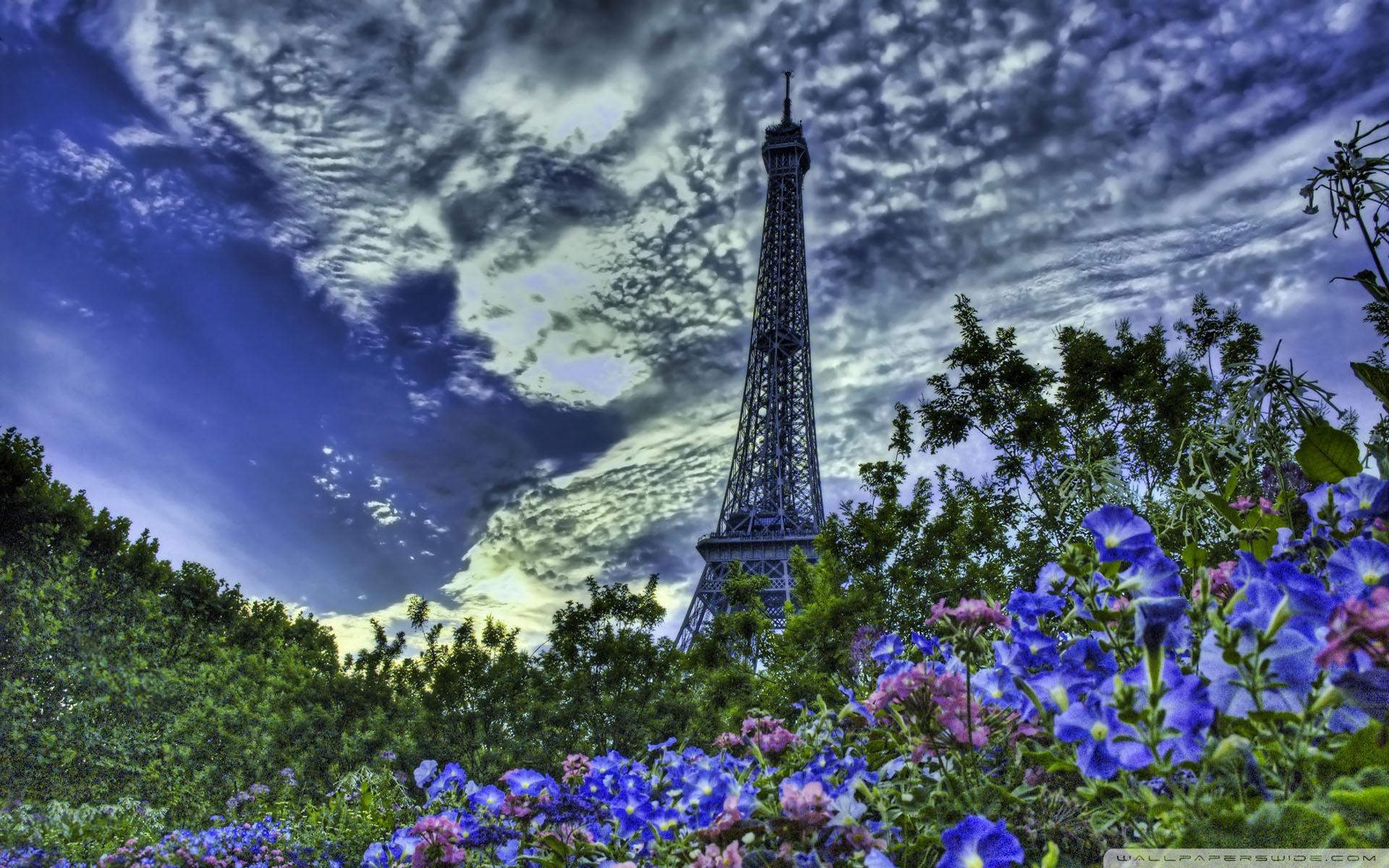 Download Free WallpaperTower Eiffel Hdr