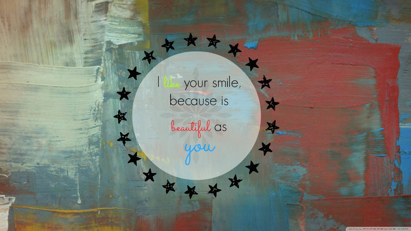 Download Free WallpaperYour Smile