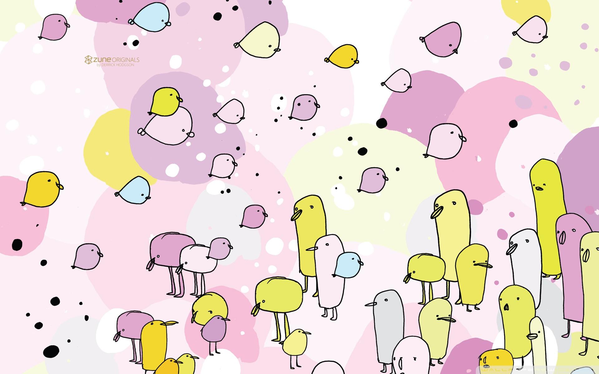 Download Free WallpaperZune Birds