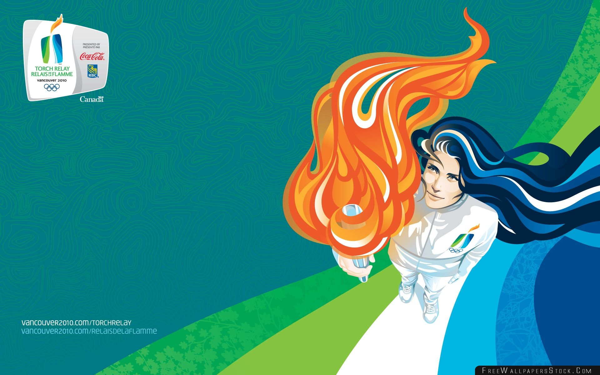Download Free Wallpaper Olympic Flame