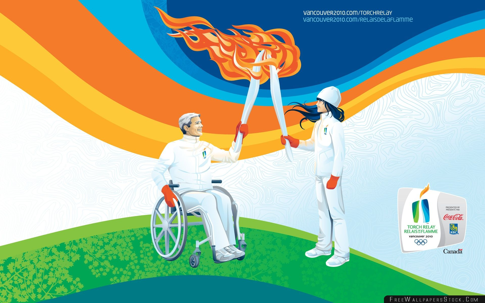 Download Free Wallpaper Olympic Torch