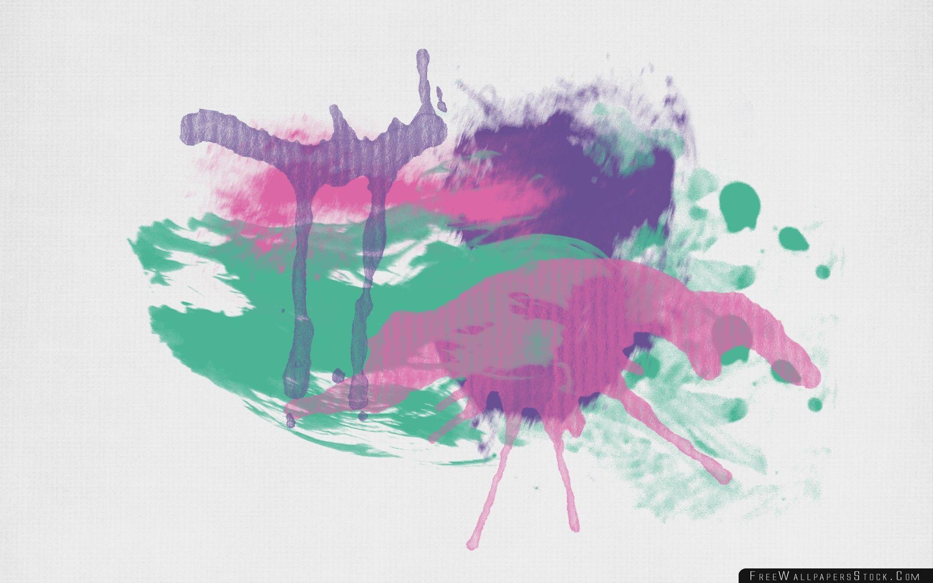 Download Free Wallpaper Paint Splatters