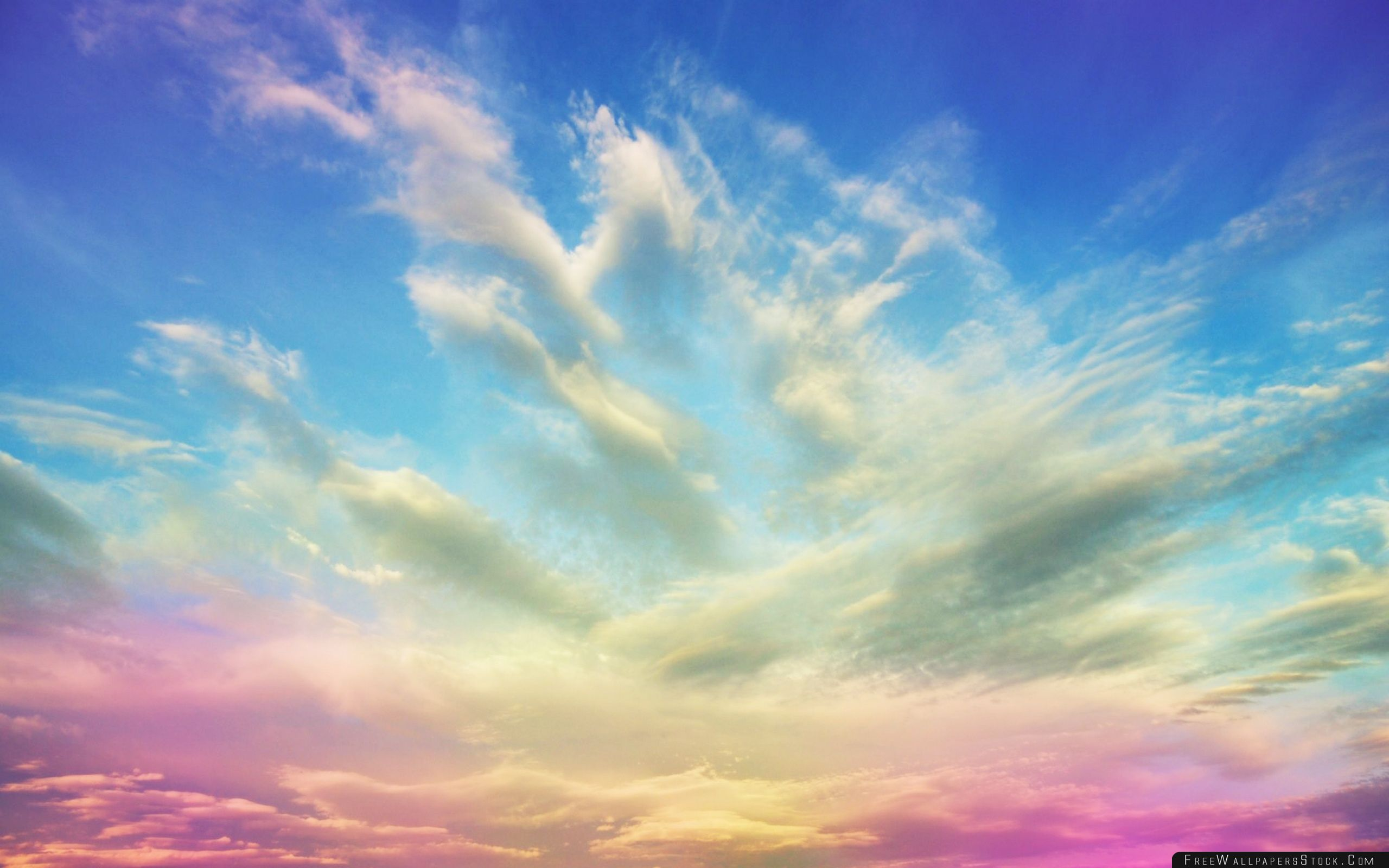 Download Free Wallpaper Pink Clouds