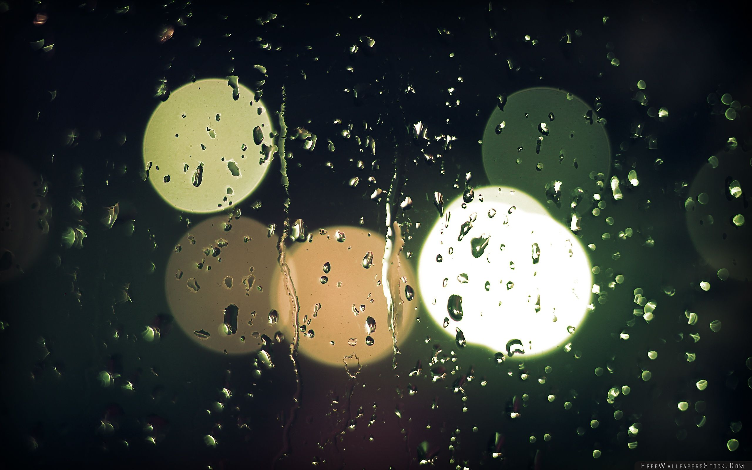 Download Free Wallpaper Raindrops   Glass