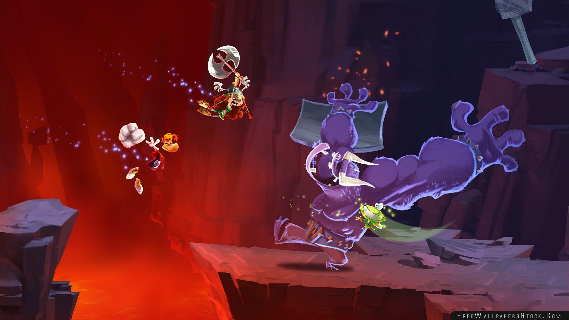 Download Free Wallpaper Rayman Legends Tickle Monster